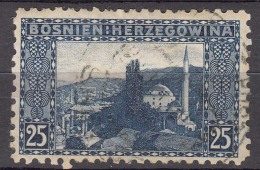 Austria Occupation Of Bosnia 1906 Mi#36 Perforation 9 Used - Used Stamps