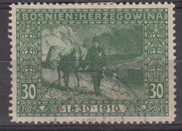 Austria Occupation Of Bosnia 1910 Mi#53 Used - Used Stamps