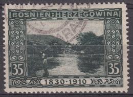 Austria Occupation Of Bosnia 1910 Mi#54 Used - Used Stamps