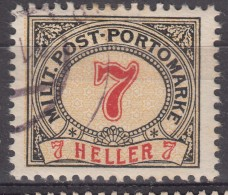 Austria Occupation Of Bosnia Porto 1904 Mi#7 Used - Used Stamps