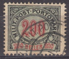 Austria Occupation Of Bosnia Porto 1904 Mi#13 Used - Used Stamps