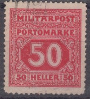 Austria Occupation Of Bosnia Porto 1916 Mi#24 Used - Used Stamps