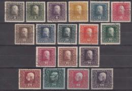 Austria Occupation Of Bosnia 1916 Mi#99-116 Used - Used Stamps