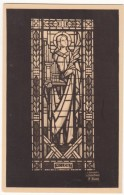 France, NOTRE-DAME DE VICHY, Sainte Cecile, Vitrail De La Tribune, Unused Postcard [18616] - Vichy