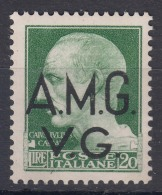Italy Trieste Venezia Giulia AMG VG 1945 Sassone#12 Mint Never Hinged - Trieste