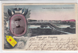 Gruss Aus Graudenz - 71er - Total Ansicht - 1910 - Pommern