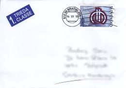 Slovakia Modern Cover To Serbia - Slowakische Republik