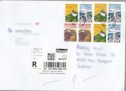 Switzerland Modern Cover To Serbia - Switzerland