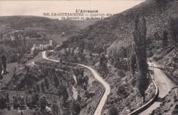 G , Cp , 15 , CHAUDESAIGUES , Jonction Des Routes De Garabit Et De Saint-Flour - Sonstige Gemeinden