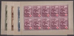 Hungary 1942 Mi#691-694 Mint Never Hinged Blocks