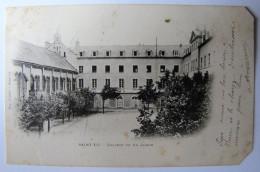 FRANCE - MANCHE - SAINT-LÔ - Le Collège Vu Du Jardin - 1902 - Saint Lo