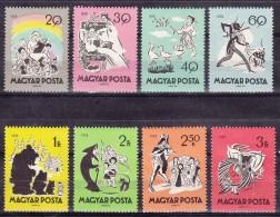 Hungary 1959 Mi#1642-1649 Mint Never Hinged