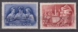 Hungary 1952 Mi#1274-1275 Mint Never Hinged