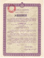 Kingdom Yugoslavia Bond - Yugoslavia