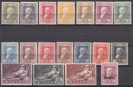 Spain 1930 Mi#464-481 Mint Never Hinged - Neufs