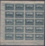 Spain 1930 Ibero-American Expo Mi#546 Mint Never Hinged Block Of 20