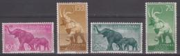 Spanish Guinea Animals 1957 Mi#334-337 Mint Never Hinged - Guinea Espagnole