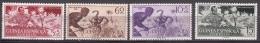 Spanish Guinea Animals 1954 Mi#299-302 Mint Never Hinged - Guinea Espagnole