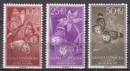 Spanish Guinea Animals 1958 Mi#353-355 Mint Never Hinged - Guinea Espagnole
