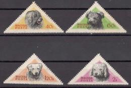 Hungary Animals Dogs 1956 Mi#1051-1055 Mint Never Hinged