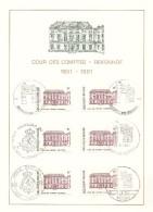 """BELG.1981 2017 FDC Philacard : """" 150 Jaar Rekenhof/150 Ans De La Cour Des Comtes """" - 1981-90"""