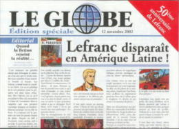 Martin - Special 50e Anniversaire De  Lefranc - Journal Promo Le Globe - Livres, BD, Revues