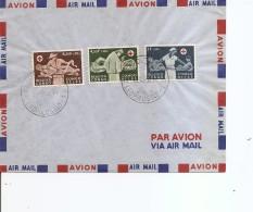Congo Belge -Croix-Rouge ( FDC De 1957 à Voir) - Congo Belge