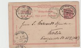 Ger438 / Bahia ViaRio De Janairo 1898 Per Dt.Seepost Hamburg -Südamerika Linie Nach Berlin