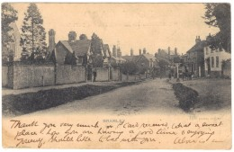 Bramley - High Street - Jolly Farmer - Lloyd, Albury - Postmark 1904 - Surrey