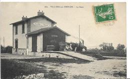 Yonne VILLIERS SUR THOLON La Gare .  .....MC - Autres Communes