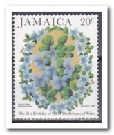 Jamaica 1982, Postfris MNH, Flowers - Jamaica (1962-...)