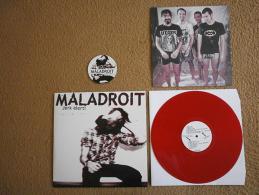 MALADROIT - Jerk Alert - LP - Vinyl ROUGE - POP PUNK - GUERILLA POUBELLE - DEAD POP CLUB - Punk