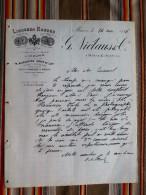 79 MAUZE 75 PARIS 2eme  Distillerie A Vapeur  NICLAUS & Co 1886 Liqueurs Russes - Factures