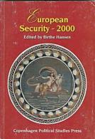 European Security 2000 - Edited By Birthe Hansen (ISBN 9788787749626) - Politics/ Political Science