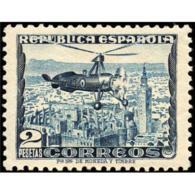 ES689STV-LFT**689TTHE.España.Spain. Espagne.AUTOGIRO LA CIERVA 1935  (Ed 689*) Con Charnela. - Helicópteros