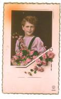 Carte Postale Ancienne Fantaisie Enfant - Portraits