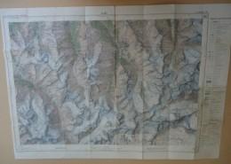 SUISSE / SCHWEIZ - Carte Nationale - 1: 50.000 - AROLLA - Blatt Feuille 283- - Mapas Topográficas
