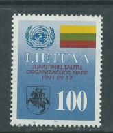 Lituanie N° 426 XX  Admission Aux Nations-Unies,  Sans Charnière, TB - Lithuania
