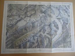 SUISSE / SCHWEIZ - Carte Nationale - 1: 50.000 - JUNGFRAU  - Blatt Feuille 264 - - Mapas Topográficas