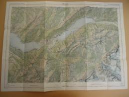 SUISSE / SCHWEIZ - Carte Nationale - 1: 50.000 - INTERLAKEN  - Blatt Feuille 254 - - Topographische Kaarten