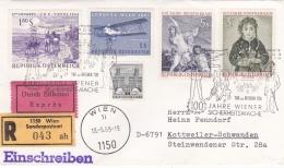 Austria Registered/Express Cover P/m Wien 1969 Wiener Sicherheitswache (SKO2-26) - 1945-.... 2ª República