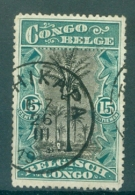 """BELGISCH-KONGO - Mi Nr 66 - Cachet """"TSHIKAPA"""" - Belgisch-Kongo"""