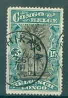 "BELGISCH-KONGO - Mi Nr 66 - Cachet ""TSHIKAPA"" - Congo Belge"