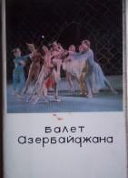 Azerbaijani Ballet. Set Of 20 Old Postcards. - Azerbaïjan