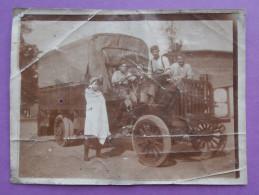 Photo  Mlitaires Camion Ancien A Identifier  LEGION ETRANGERE - War, Military