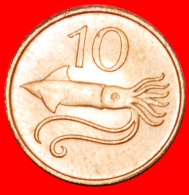 § SQUID: ICELAND ★ 10 ORE 1981 MINT LUSTER! LOW START★NO RESERVE!!! - Iceland