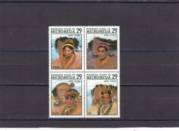 Micronesia Nº 291 Al 294 - Mikronesien