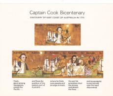 Australia 1970 Capt Cook Bicentenary Miniature Sheet MNH - 2000-09 Elizabeth II