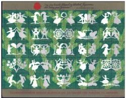 DENMARK 2005 Christmas Seals Complete Unfolded Sheet MNH / ** - Denmark