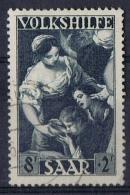 K 1587  SAARLAND  GESTEMPELD  YVERT NRS 263  ZIE SCAN - Timbres